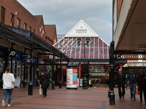 Cannock shopping centre