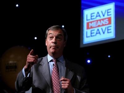 No deal, no problem, Farage tells EU 'gangsters'