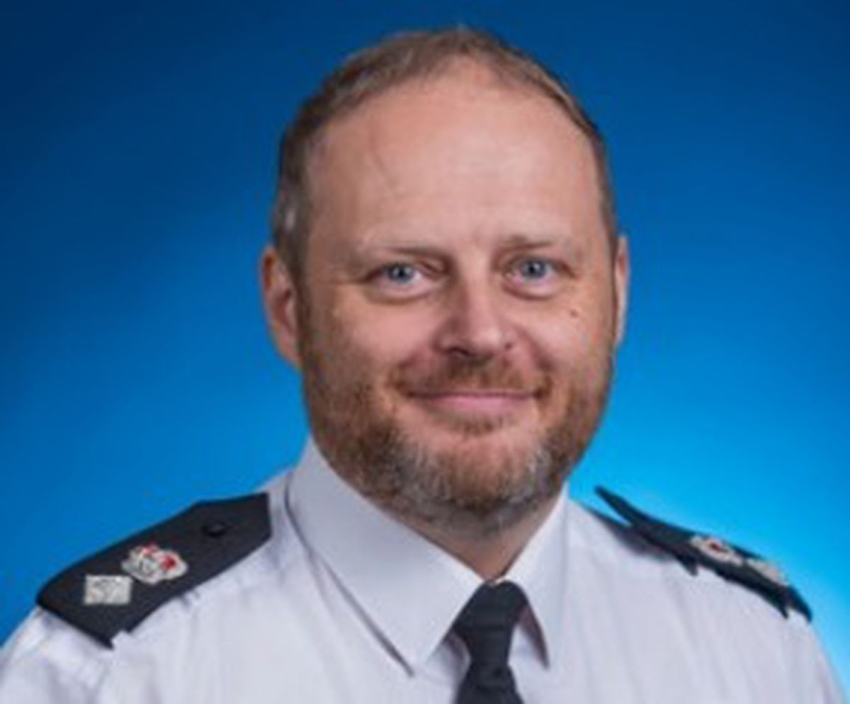 Chief Superintendent Phil Dolby has taken on the role of commander of the borough in Walsall