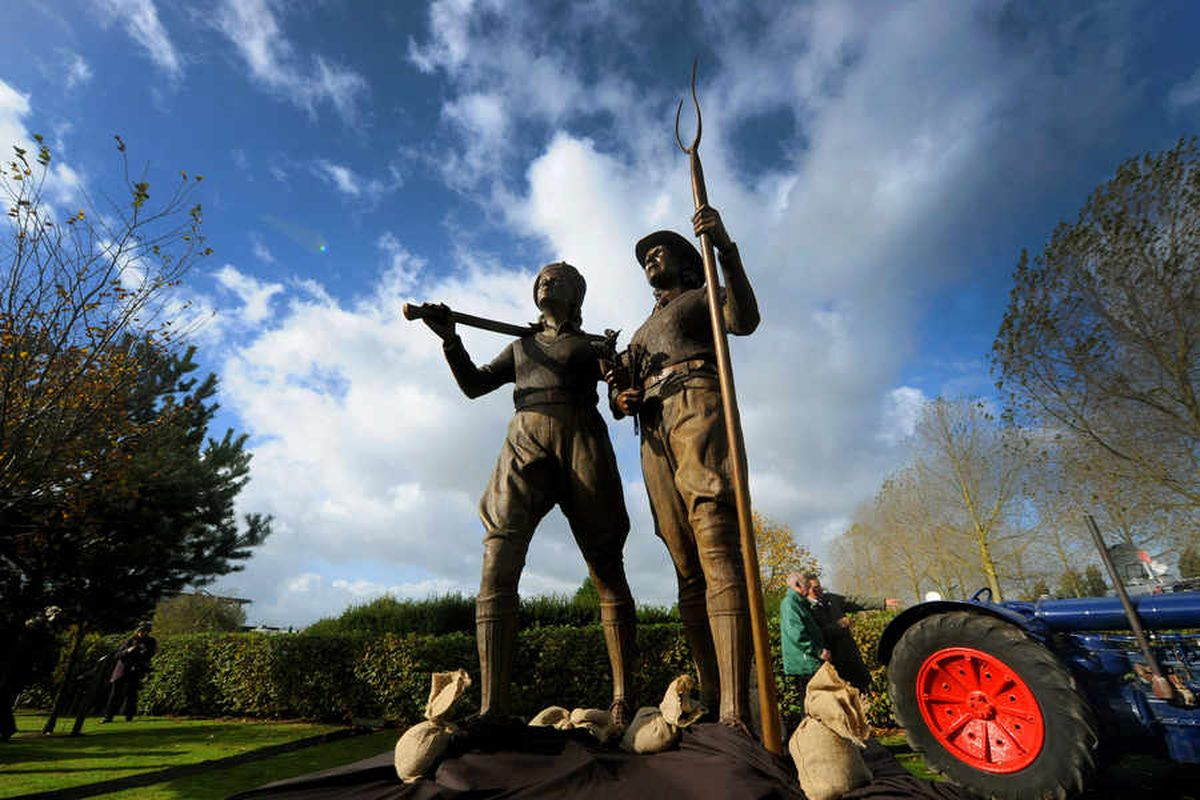 The Land Girls are finally remembered