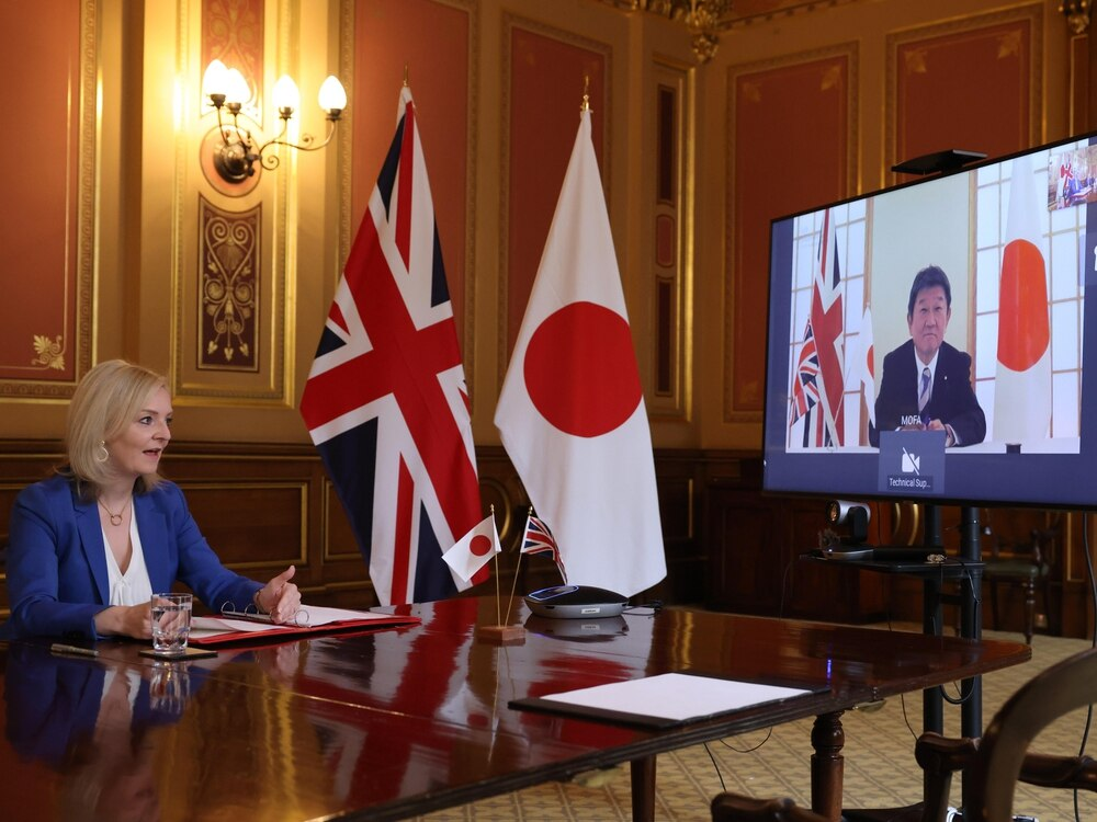 United Kingdom agrees trade deal with Japan as row with European Union intensifies
