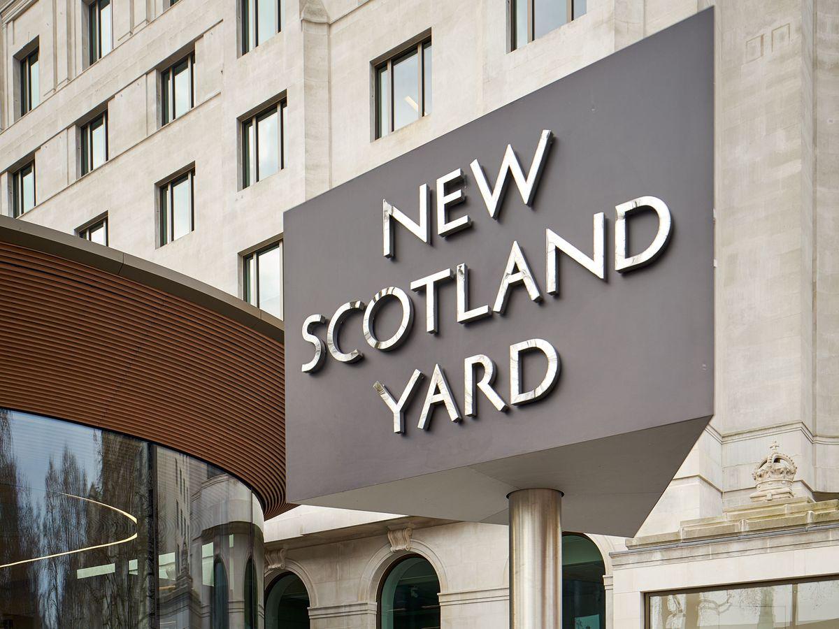 Metropolitan Police headquarters, New Scotland Yard on Victoria Embankment in London (Metropolitan Police/PA)