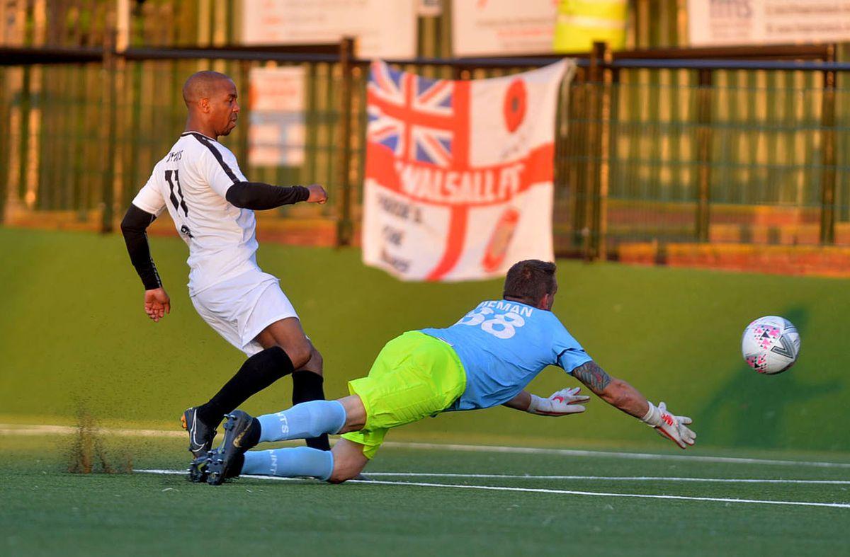 Darren Byfield scores his second