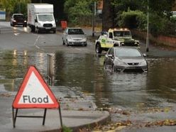 West Midlands battered by storms as Hurricane Lorenzo approaches