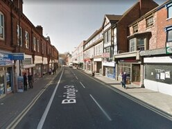Suspect charged over street attack in Walsall town centre