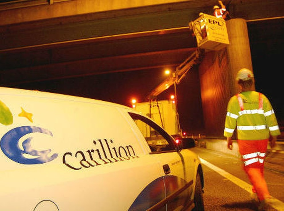 Carillion half year profits at £1.15bn loss