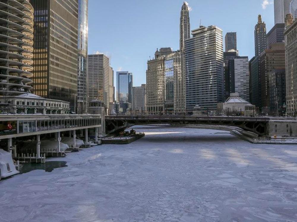 Chicago Gets Rebranded #Chiberia As Polar Vortex Hits The