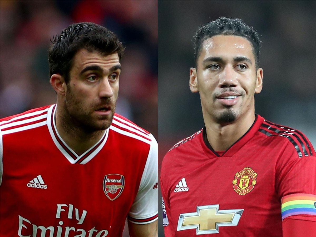 Sokratis and Smalling have been linked with moves to Serie A