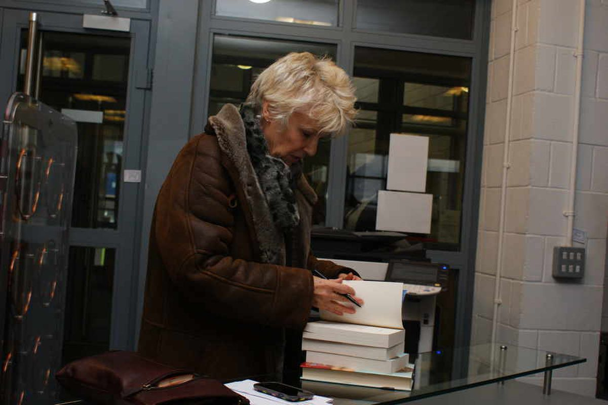 Julie Walters at Sandwell Academy