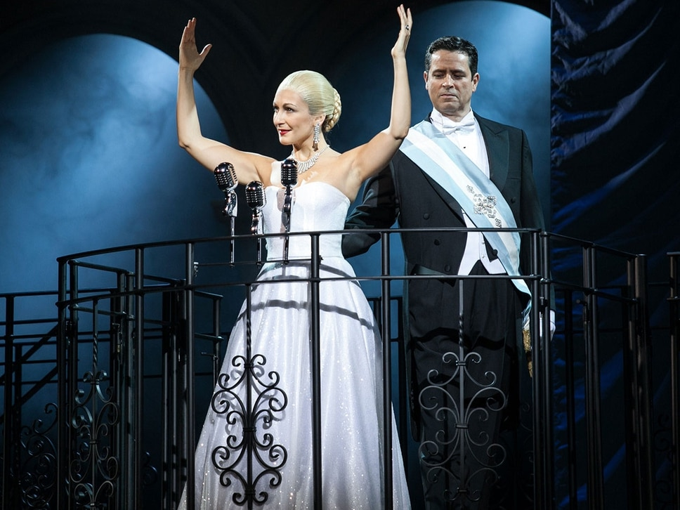 Evita, Birmingham Hippodrome - review with pictures