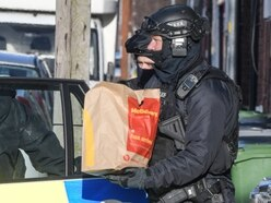 Police call in McDonald's delivery in bid to end nine-hour stand-off