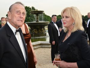 Joanna Lumley met the Duke of Edinburgh a number of times (John Stillwell/PA)