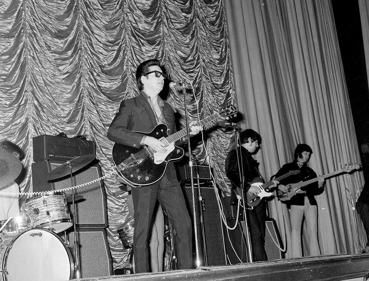Roy Orbison at Wolverhampton's Gaumont cinema