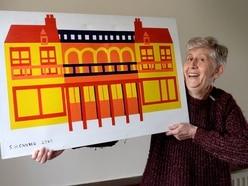 Artist showcases iconic Wolverhampton buildings