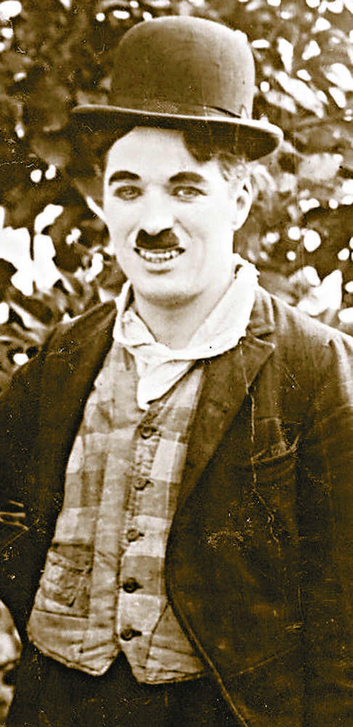 The comic icon, Charlie Chaplin