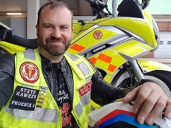 What it's like to be a blood biker: It gives me a sense of pride