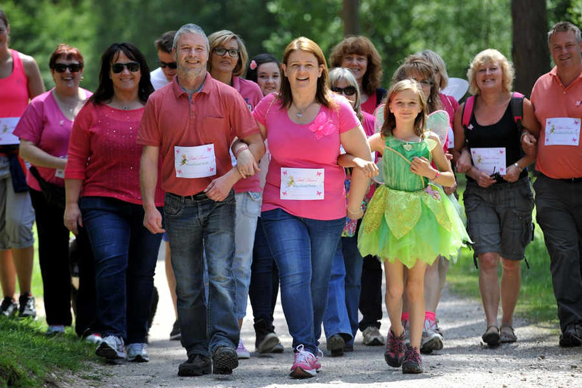 WATCH: Fairy walk keeps memory of Staffordshire woman killed by lorry driver alive
