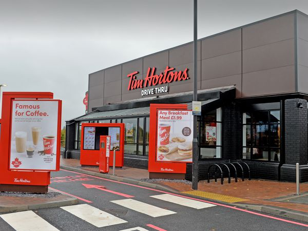 The drive-thru is ready to welcome people from across the region to Bentley Bridge