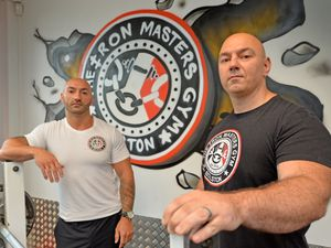Santino and Carlo Sellick from the Iron Masters Gym, have worked to help the community through their gym, giving a place for younger people to come in and train to help them find the right path