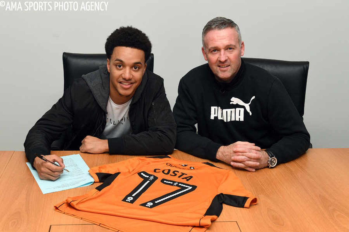 Helder Costa signed in a permanent deal in January
