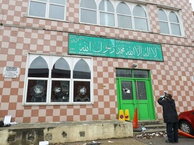 Man charged after Birmingham mosque attacks