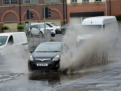 Roads flooded and cricket cancelled as heavy rain returns to Black Country and Staffordshire