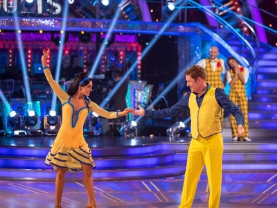 Dudley's Amy Dowden and comedian Brian Conley are voted off Strictly Come Dancing
