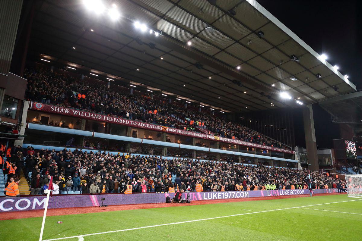 Fans at Villa Park. (AMA)