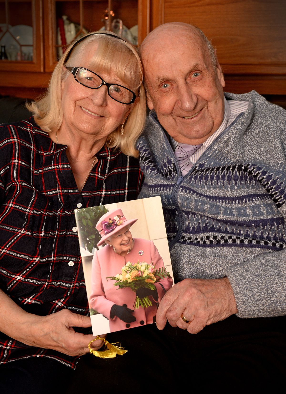 John and Ingrid Taylor, from Bridgnorth, celebrated their 65th wedding anniversary