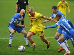 SPORT PIC  /  DAVID HAMILTON PIC / EXPRESS AND STAR 24/10/20 Barrow FC vs Walsall Jake Scrimshaw..