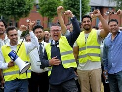 Taxi drivers stage 'go-slow' protest in Wolverhampton in licensing row