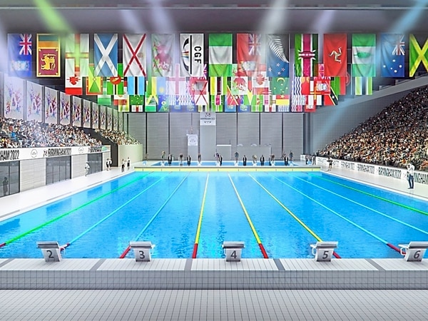 Football pitch will stay at Commonwealth Games aquatics site