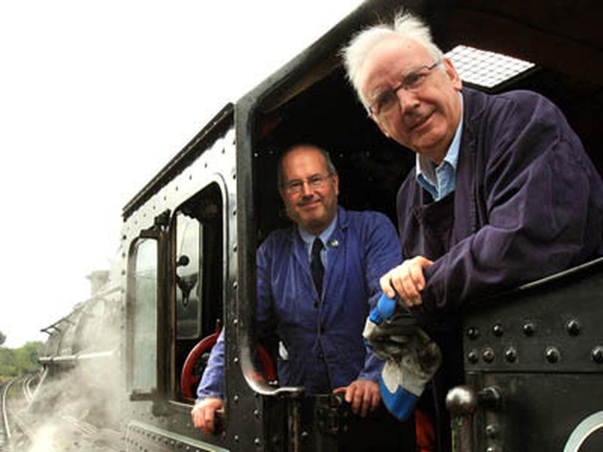 Pete Waterman at Bridgnorth's Severn Valley Railway in 2009