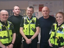 Ross Kemp joins police on the job in the Black Country