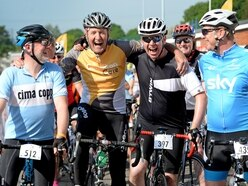 Round the Wrekin: Hundreds take part in popular cycle ride
