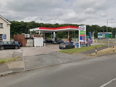 Man stabbed outside service station in Stone