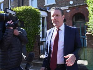 Labour leader Sir Keir Starmer leaving his north London home following the result in the Hartlepool parliamentary by-election