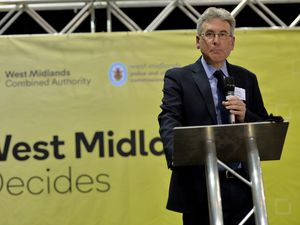 Newly elected PCC Simon Foster