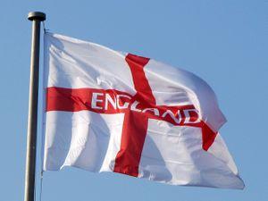 English flag.