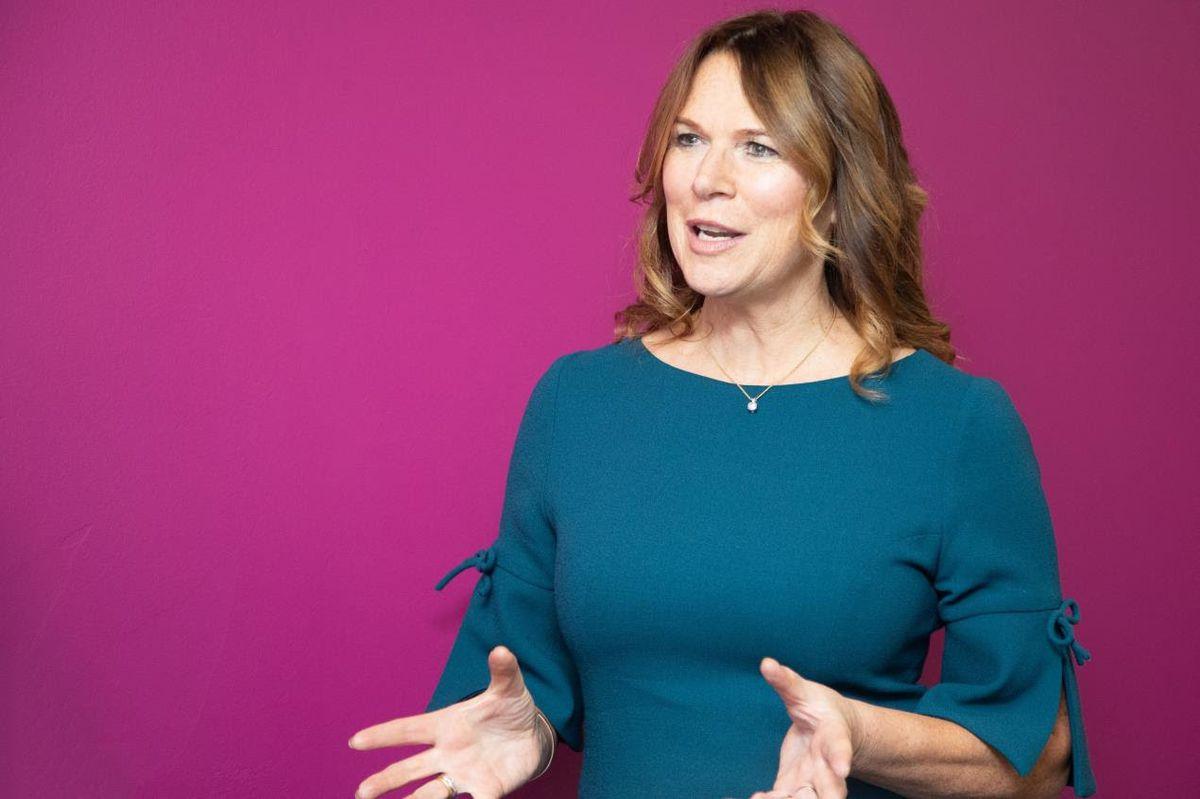 Chief executive Debbie Robinson