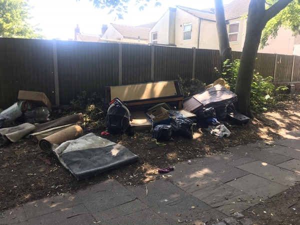 Pupils distraught after furniture and rubbish dumped near Wolverhampton school
