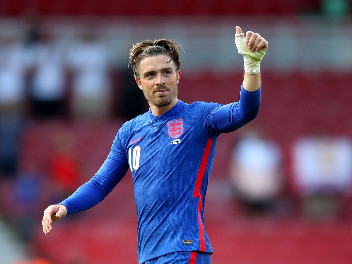 Jack Grealish was absent from squad training on Tuesday