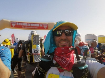 Man who began running after losing 'everything' completes 156-mile desert race