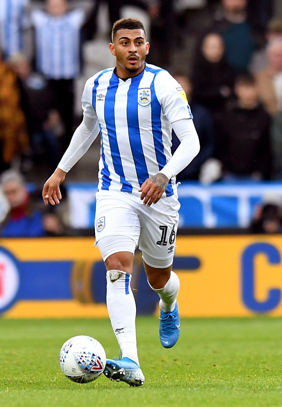 Huddersfield Town's Karlan Grant