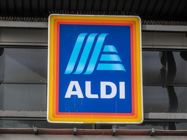 An Aldi sign