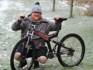 Stuart Bratt, of Dudley, who has set himself a 84 day personal challenge
