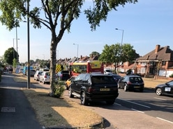 Dog walker hit by car at A34 accident blackspot in Great Barr