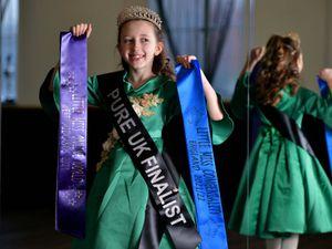 Kyla Adams-Kolmer aged eight