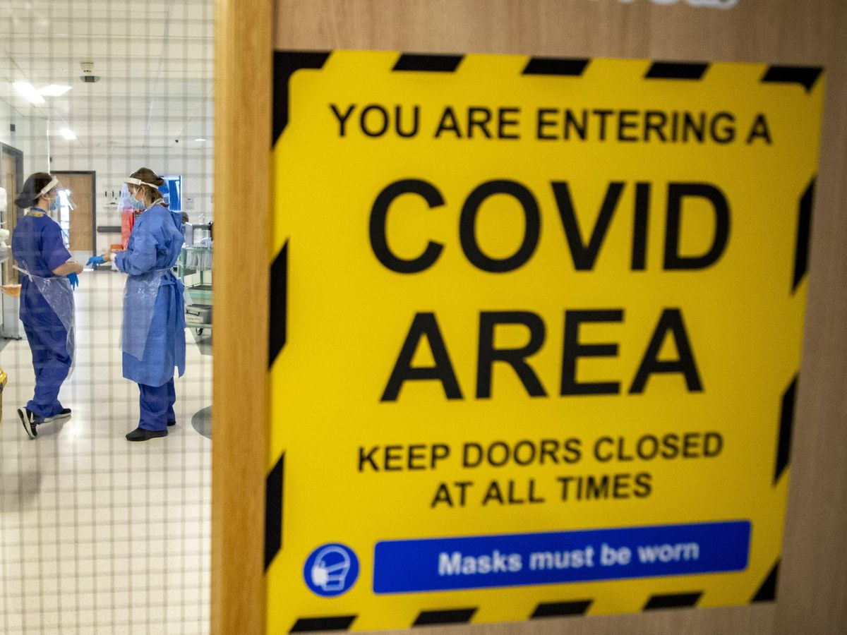 More testing of hospital staff will result in more positive results and the classification of 'outbreaks' according to a health official