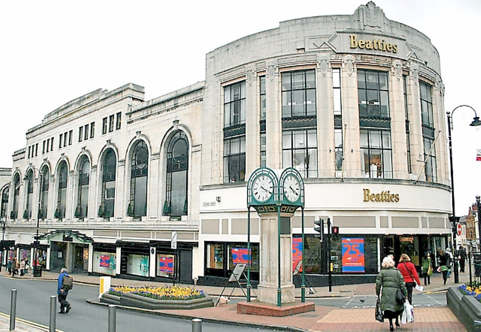 Beatties owner house of fraser to close stores as part of for Quality classic house of fraser